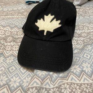 canada roots ball cap